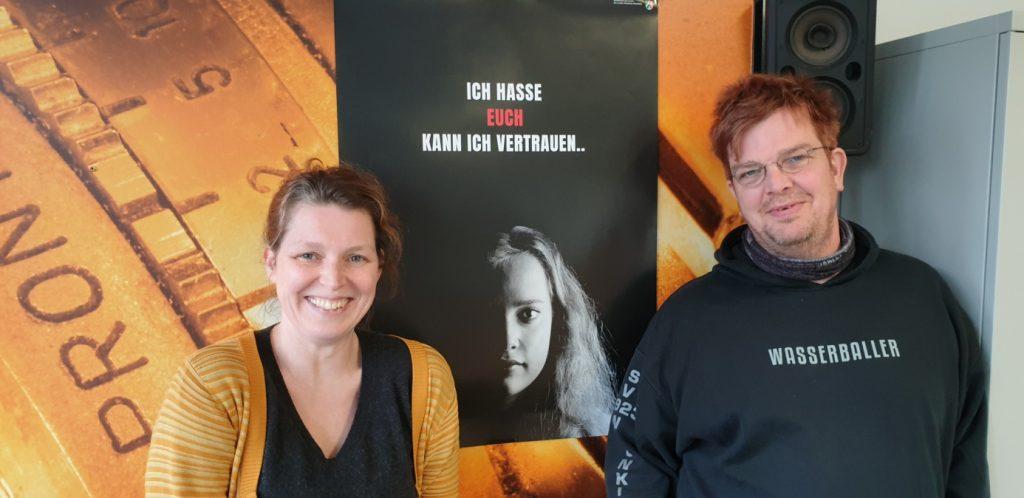 Bild: von links nach rechts: Jenny Herre, Jörg Preßer